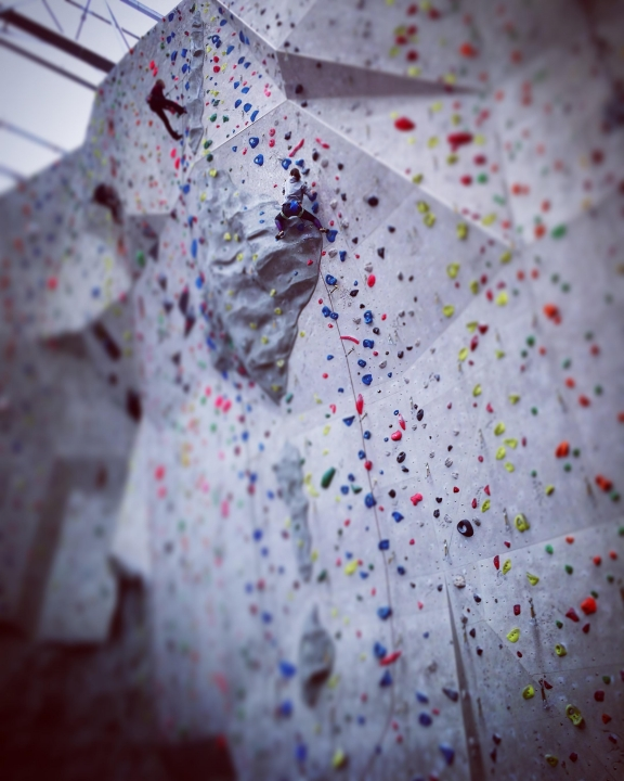 A picture from Edinburgh Indoor Climbing Arena (EICA), Ratho by Ivan Cairns