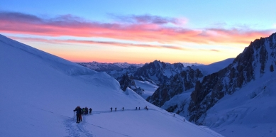 A picture from Mont Blanc / Monte Bianco by Mic Huizinga