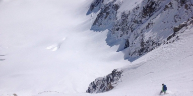 A picture from Argentière by Mic Huizinga