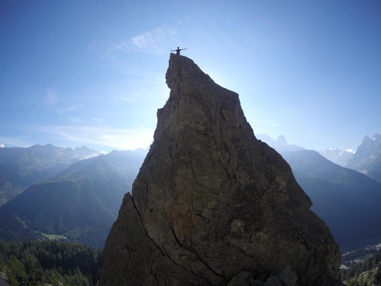 A picture from Aiguillette d\'Argentière, Haute-Savoie, France by Mic Huizinga