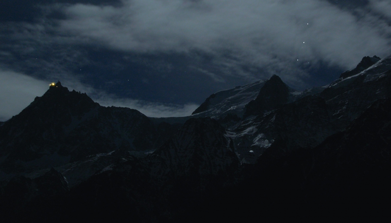 A picture from Mont Blanc du Tacul by Mic Huizinga