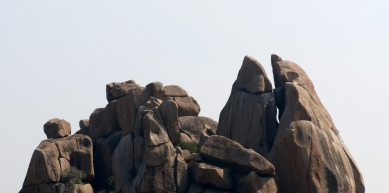 A picture from Hampi by ishaan dasgupta