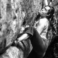 Bouldering in  Fusimanya by Ivan Guerrero