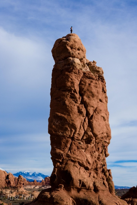 A picture from Arches National Park by Megan Abshire
