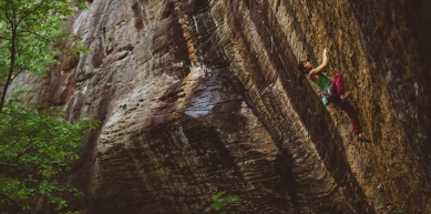 A picture from The Red River Gorge (RRG) by katherine choong
