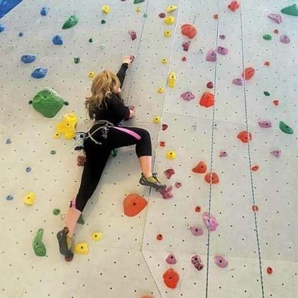 Momentum Indoor Climbing, Millcreek by Diana Martirosova