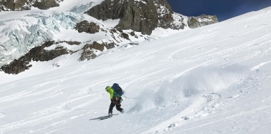 A picture from Glacier d\'Argentière by Mic Huizinga