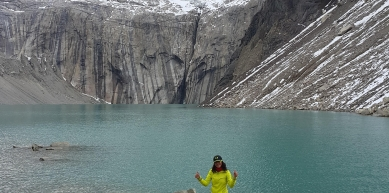 A picture from Torres del Paine by Araceli Aguilar