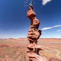 Ancient Art, Fisher Towers, Moab, UT by Florent Vorger