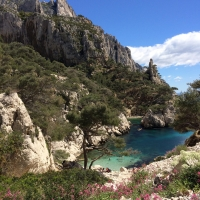Les Calanques by Jeanne METHEL