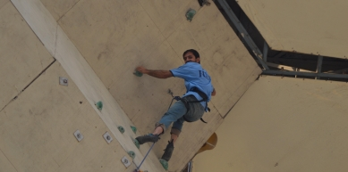 A picture from Ibex Club Climbing Arena by Zaheer  Ahmad