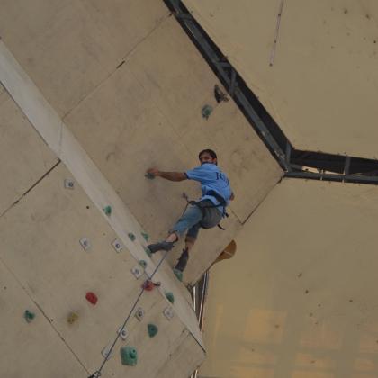 Ibex Club Climbing Arena by Zaheer  Ahmad