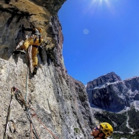 Ciavazes, Dolomites by Etienne Bernard