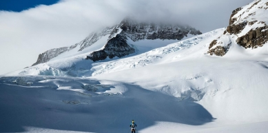 A picture from Wetterhorn, Switzerland by Dynafit