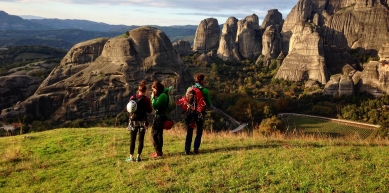 A picture from Meteora by Petra Farkas