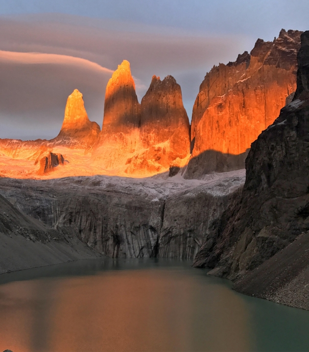 A picture from Torres del Paine by Tori Lam