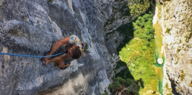 A picture from Gorges du Verdon by Jonathan Bargibant