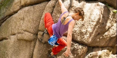 A picture from Rudawy Janowickie by Crafty Climbing