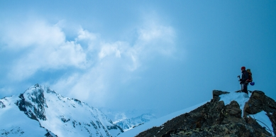 A picture from Stubai Alps by Kraxeln  im Norden