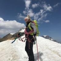 Monte Cevedale in den Ortler Alpen by Meikel L