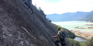 A picture from The Chief, Squamish by Zofre Pejrak