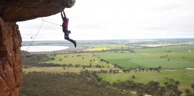 A picture from Mount Arapiles by Katrina Bean