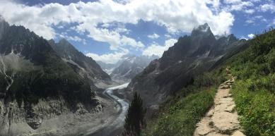 A picture from Montenvers, Chamonix by Mic Huizinga