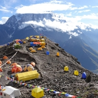 Mt. Manaslu by Luis Stitzinger