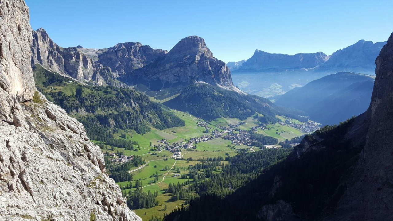 A picture from Passo Gardena by Fabio Palmieri