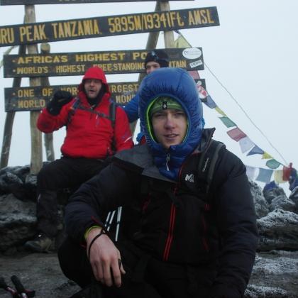 Kilimanjaro / Uhuru/Kibo Peak by Duncan Deprez