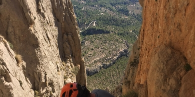 A picture from Puig Campana by Javi de Mora