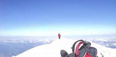 A picture from Mont Blanc / Monte Bianco by Igor Bujas