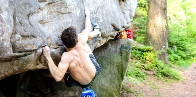 A picture from Kamienna Gora by Crafty Climbing