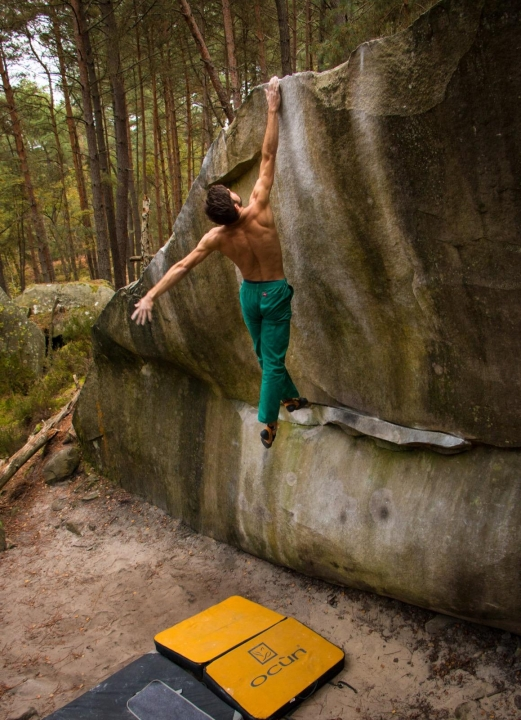 A picture from Fontainebleau by Benjamin Weber