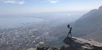 A picture from Table Mountain by Pim VD