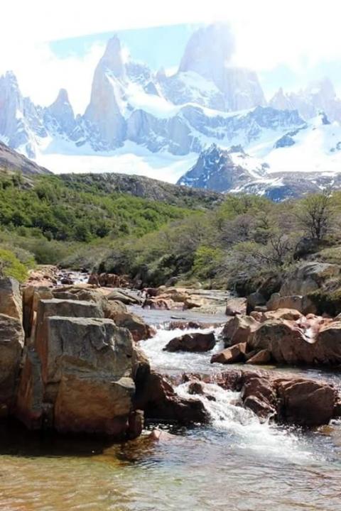 A picture from El Chaltén by Juan Sannyassin