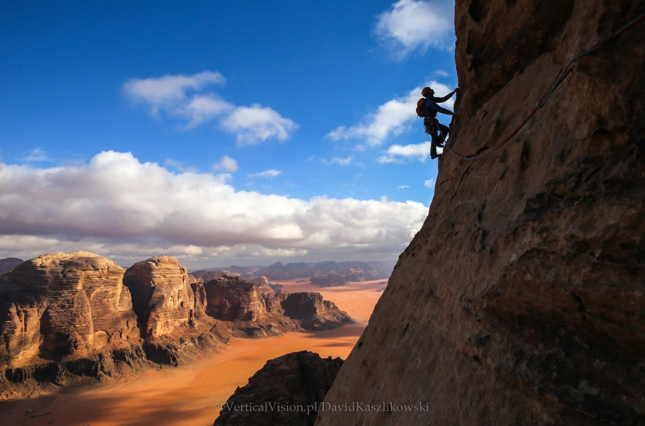 A picture from Wadi Rum by David Kaszlikowski