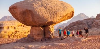 A picture from Wadi Rum, Jordan by David Kaszlikowski