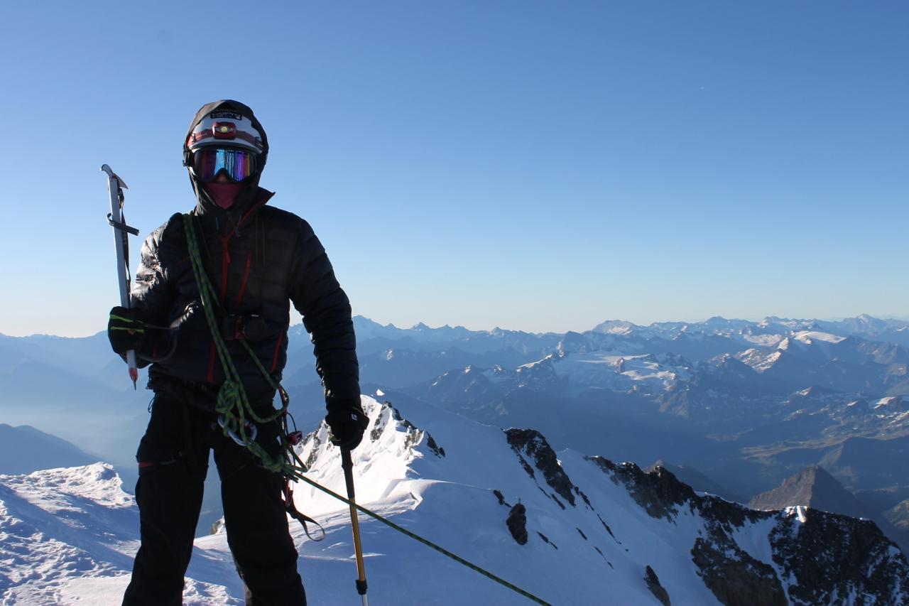 A picture from Mont Blanc du Tacul by Ľubomír  Kolársky
