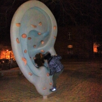 playground EAR-boulder by Sha Ti