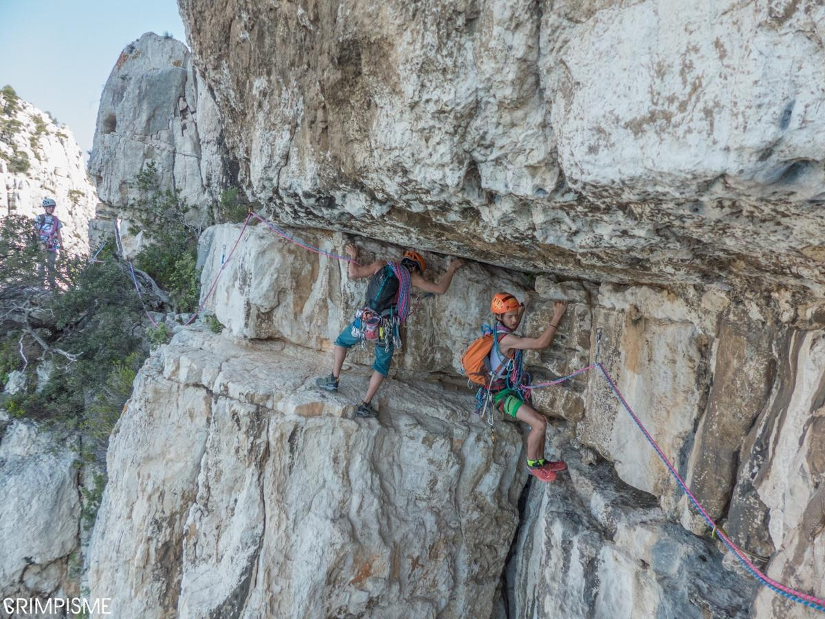 A picture from Les Calanques by Fred Vionnet Grimpisme
