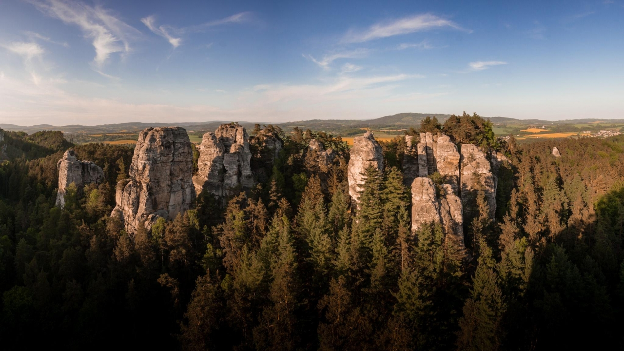 A picture from Hruboskalsko by Jan Zahula