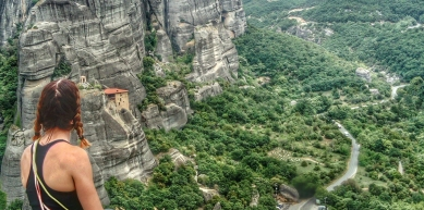 A picture from Meteora by Csilla Mezei