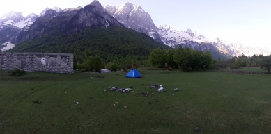 A picture from Valbonë - Theth by Bözse Hosszu