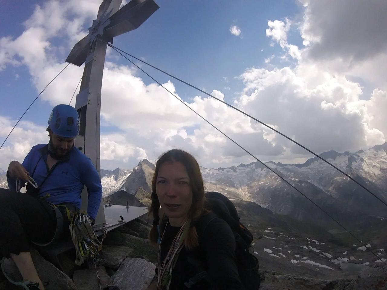 A picture from zsigmondyspitze, zillertal by Csilla Mezei
