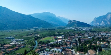 A picture from Arco di Trento by Andras Meszey
