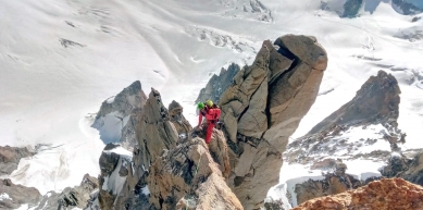 A picture from Aiguille du Diable, Chamonix. by Explore-Share