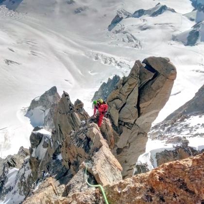 Aiguille du Diable, Chamonix. by Explore-Share