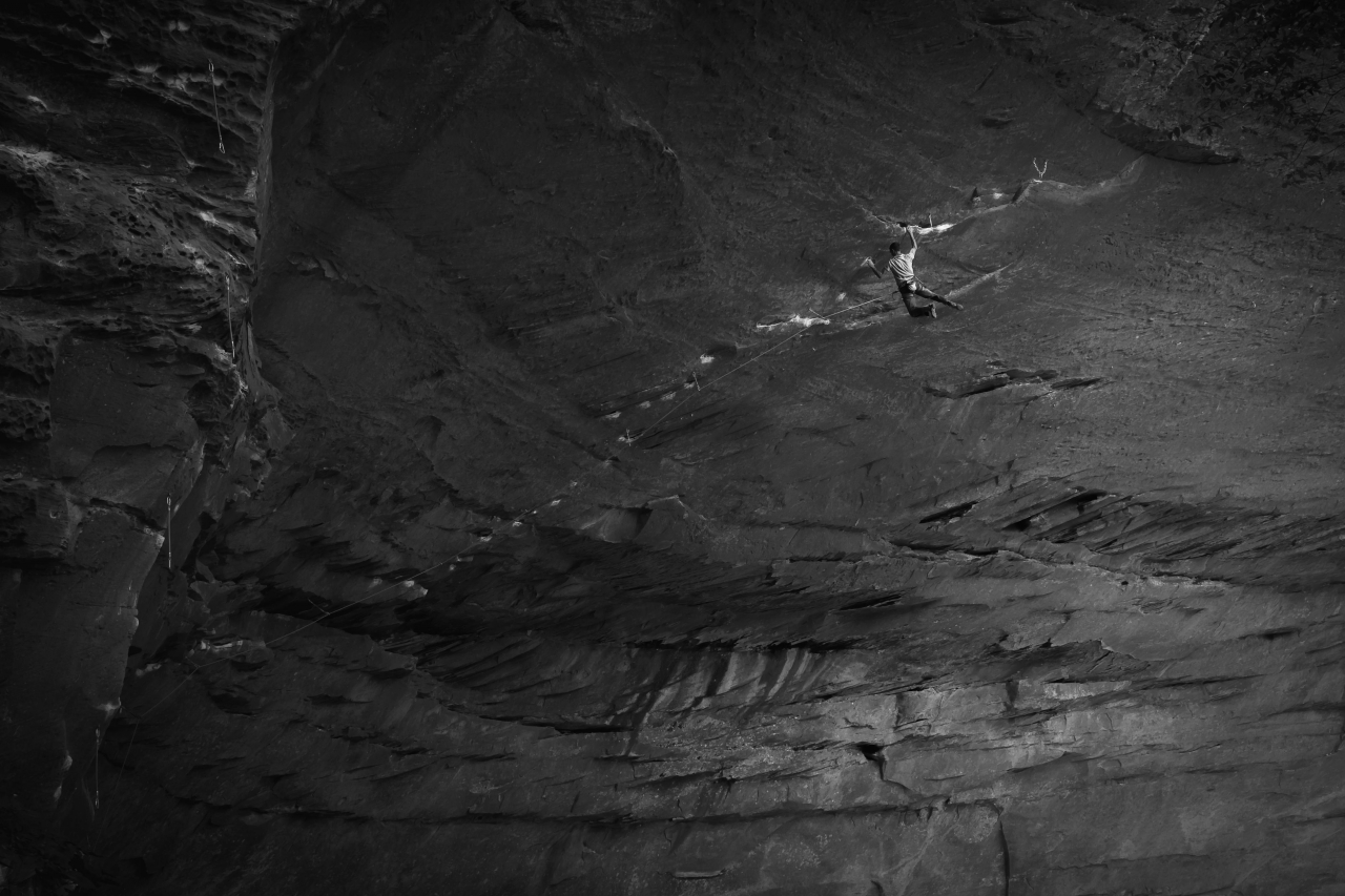 A picture from The Red River Gorge (RRG) by Christoph Detschmann