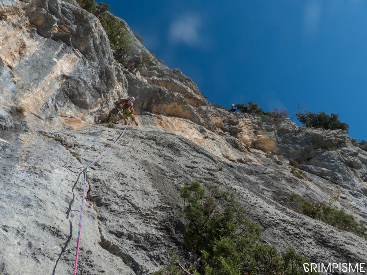 A picture from Gorges du Verdon by Fred Vionnet Grimpisme